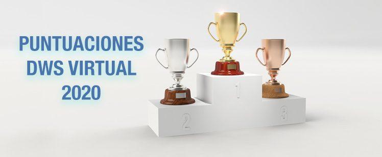 Puntuaciones Concurso Virtual 2020