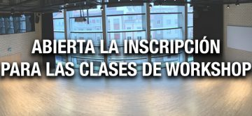 Workshops 2020 abiertos